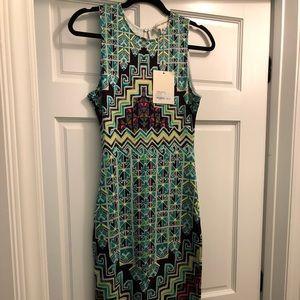 Mara Hoffman Midi Dress Size Small